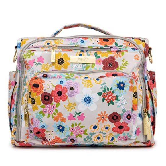 JuJuBe BFF Convertible Unisex Diaper Backpack NWT